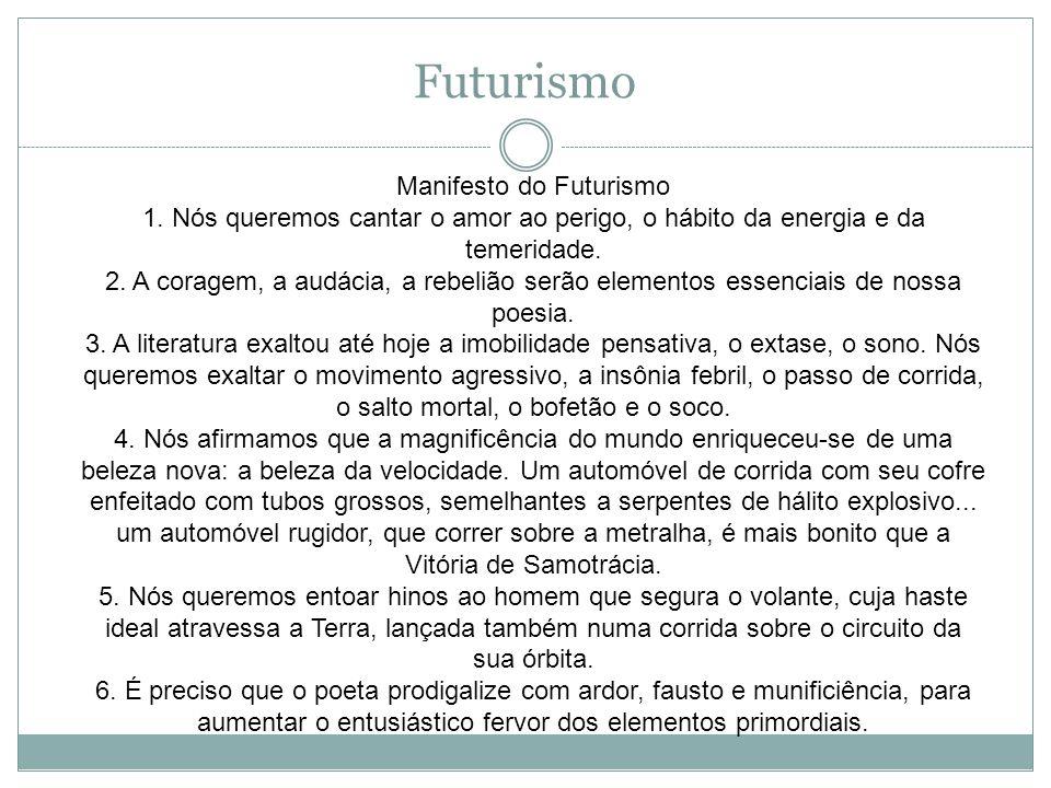 Manifesto do Futurismo