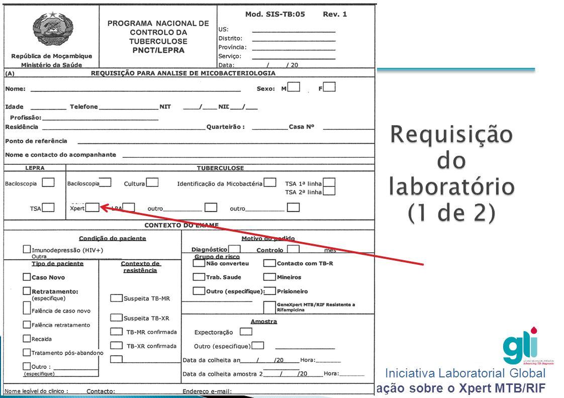 Requisição do laboratório (1 de 2)
