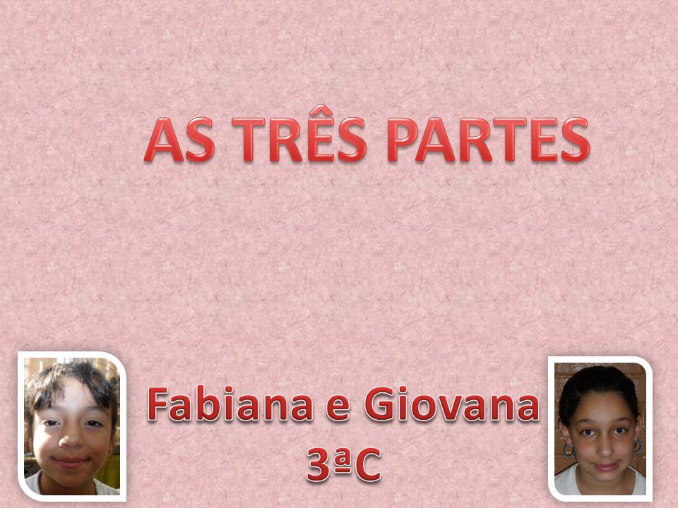 AS TRÊS PARTES Fabiana e Giovana 3ªC