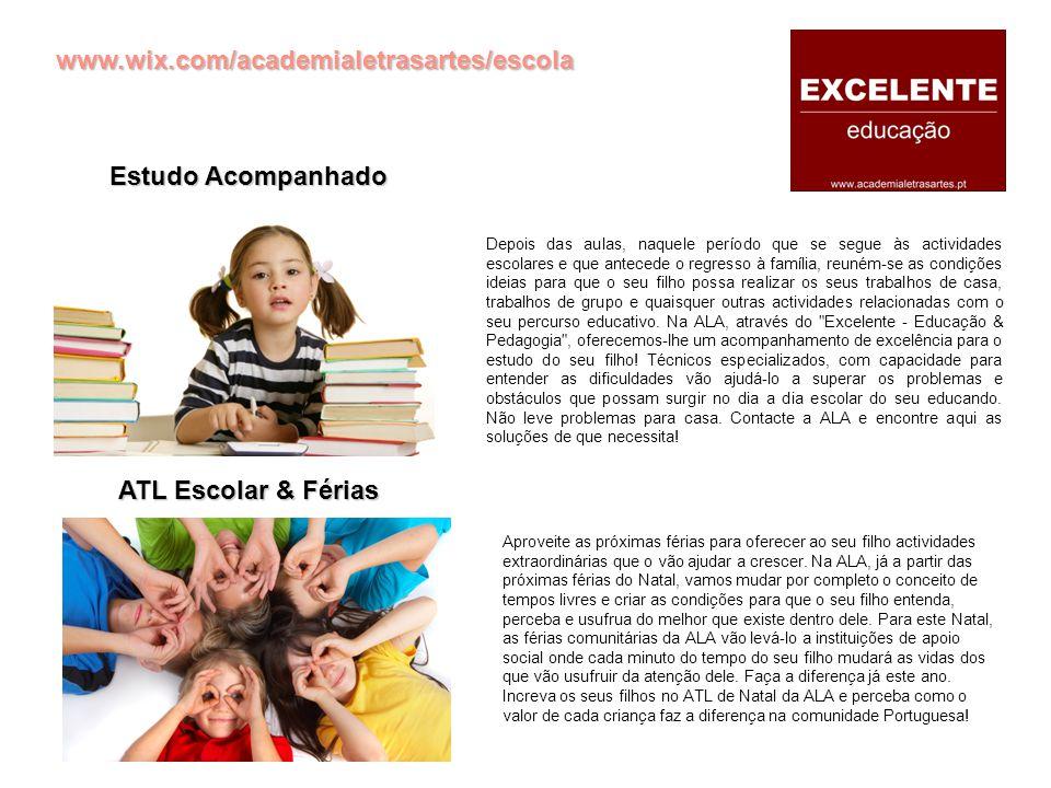 Estudo Acompanhado ATL Escolar & Férias