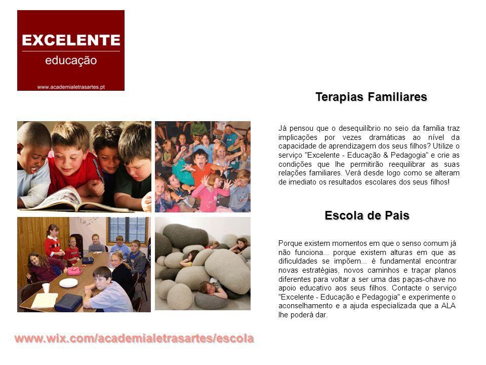 Terapias Familiares Escola de Pais