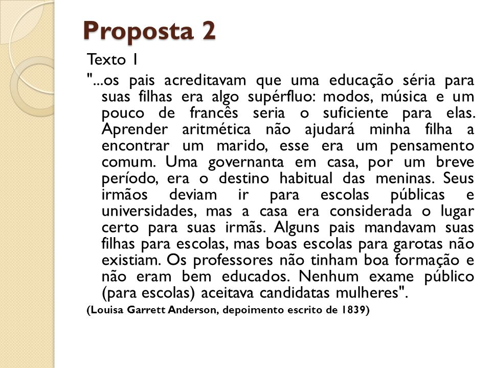 Proposta 2 Texto 1.