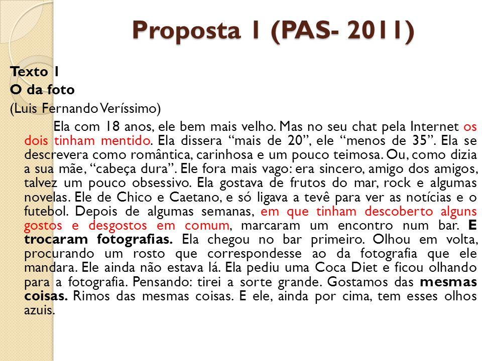 Proposta 1 (PAS- 2011)