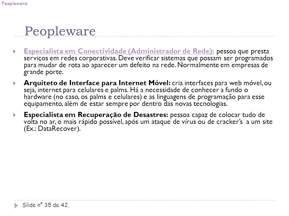 Peopleware Peopleware.