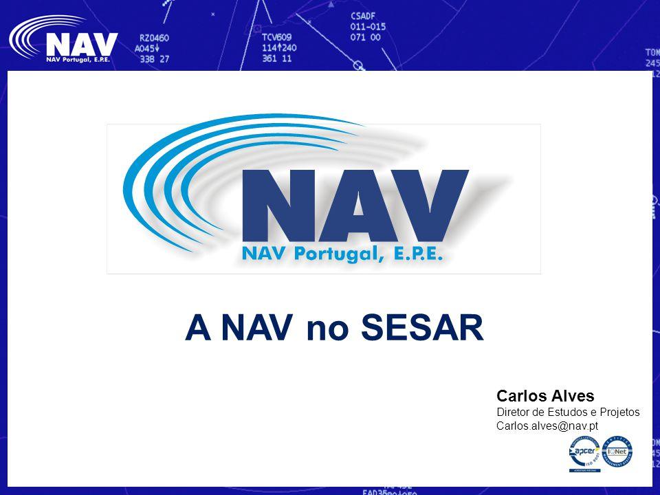 A NAV no SESAR Carlos Alves Diretor de Estudos e Projetos