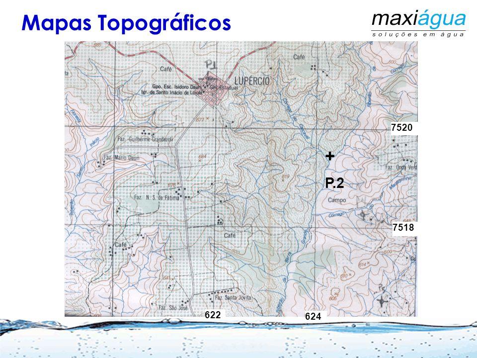 Mapas Topográficos 7520 + P.2 7518 622 624