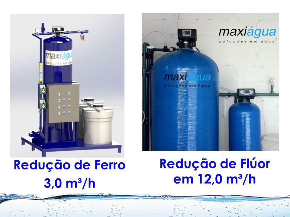 Redução de Flúor em 12,0 m³/h