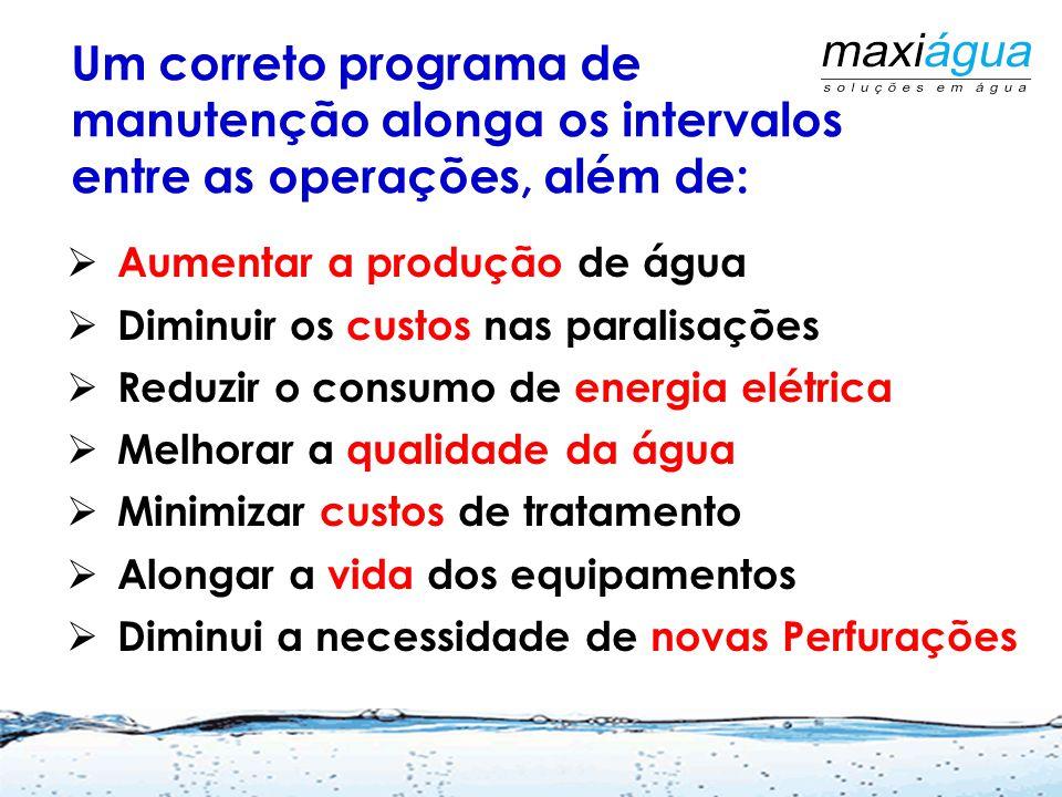 Um correto programa de manutenção alonga os intervalos entre as operações, além de: