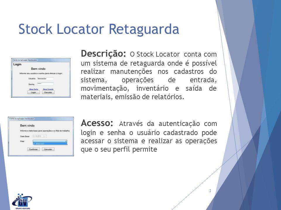 Stock Locator Retaguarda