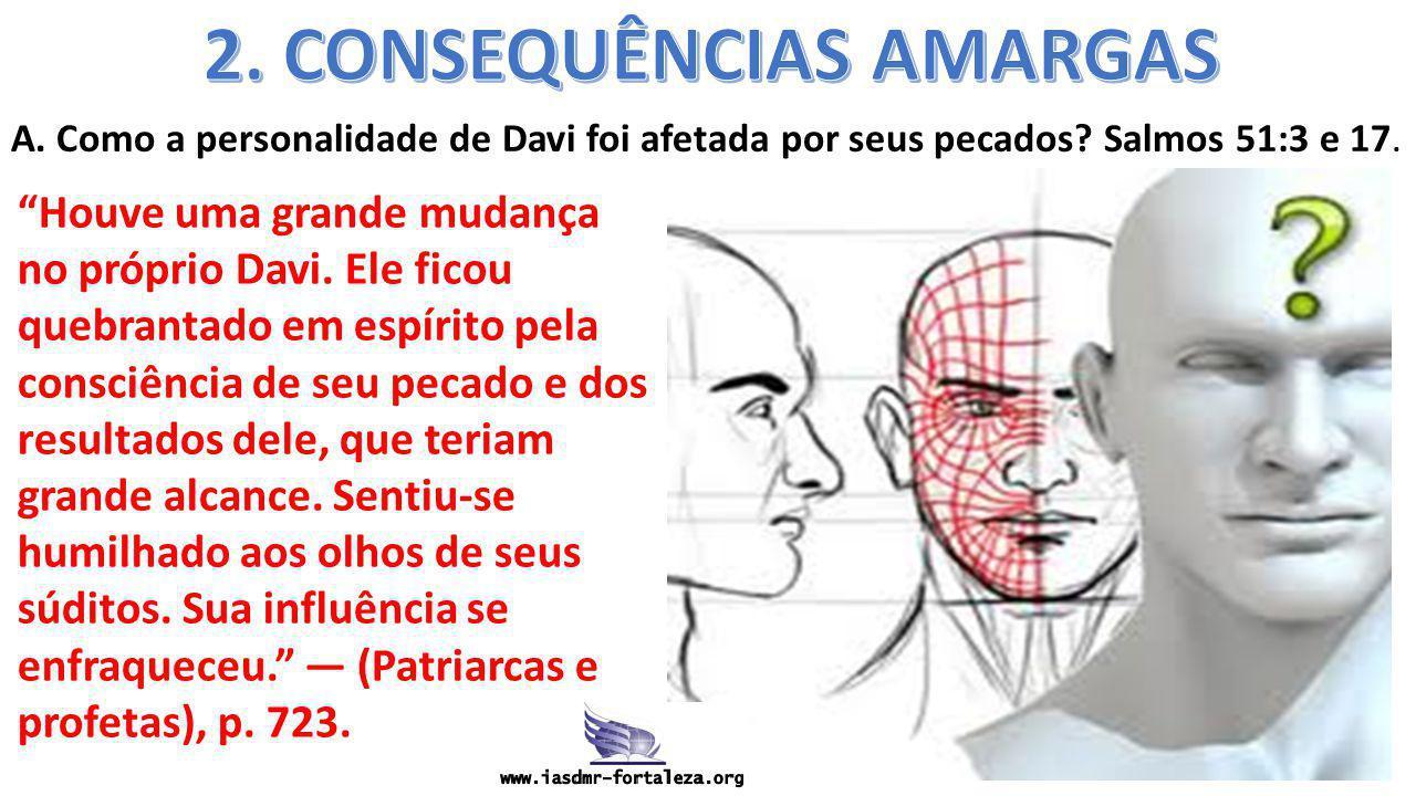 2. CONSEQUÊNCIAS AMARGAS