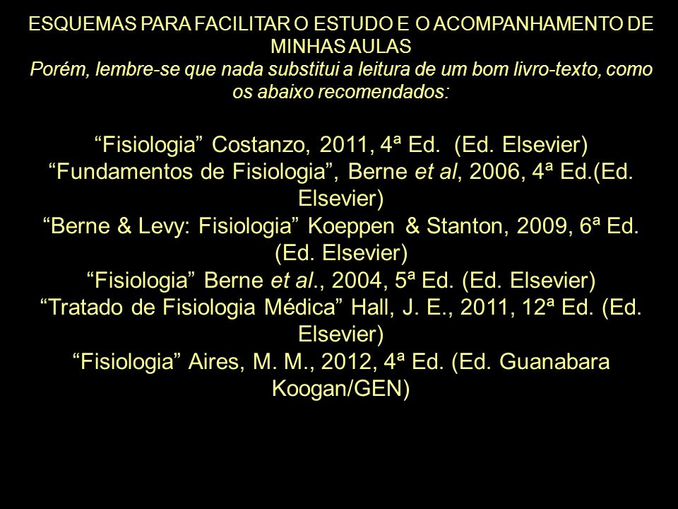 Fisiologia Costanzo, 2011, 4ª Ed. (Ed. Elsevier)