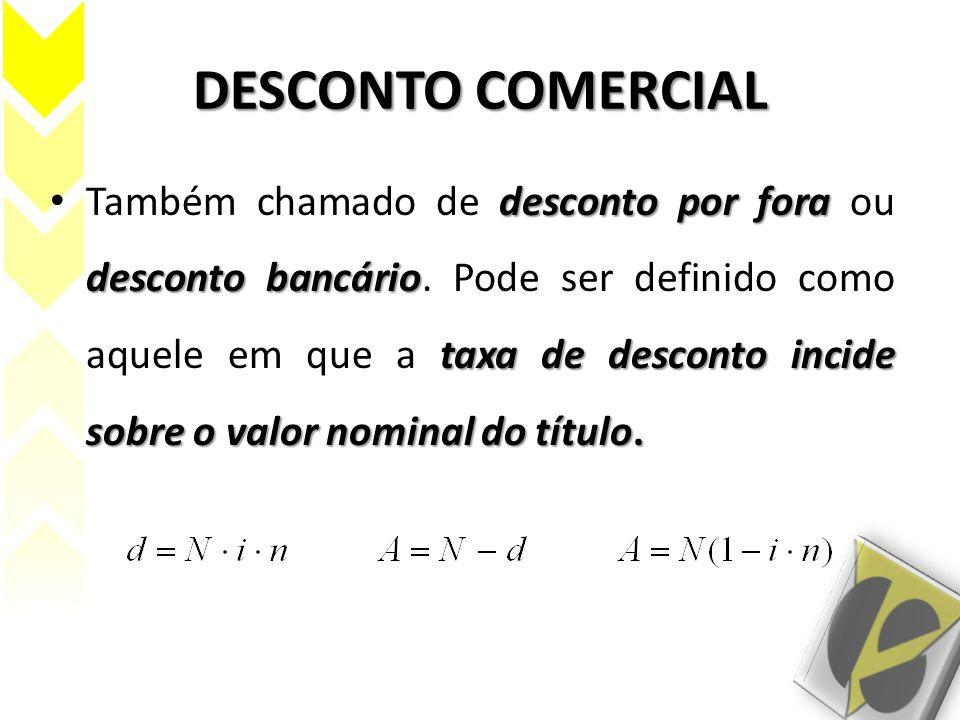 DESCONTO COMERCIAL