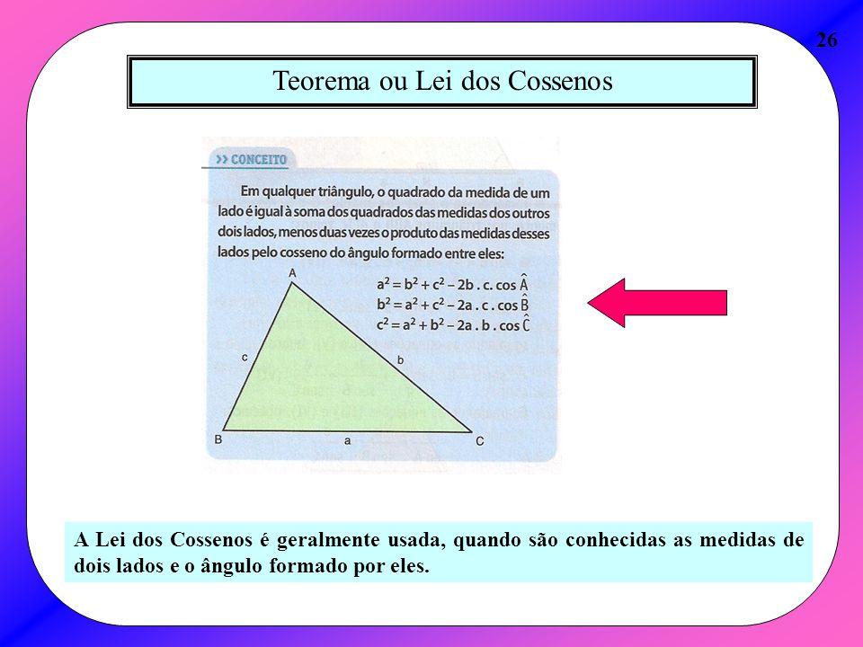 Teorema ou Lei dos Cossenos