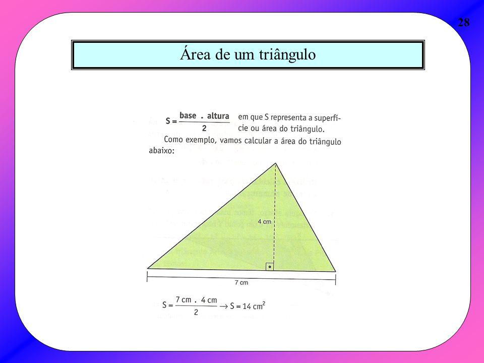 28 Área de um triângulo