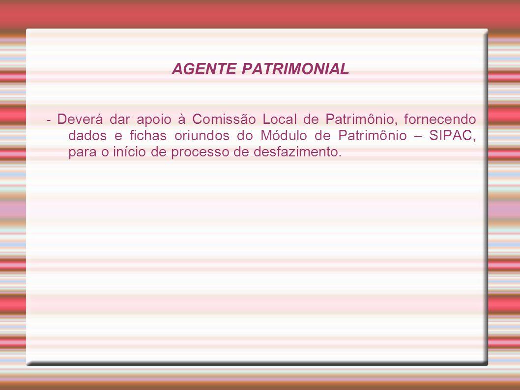 AGENTE PATRIMONIAL