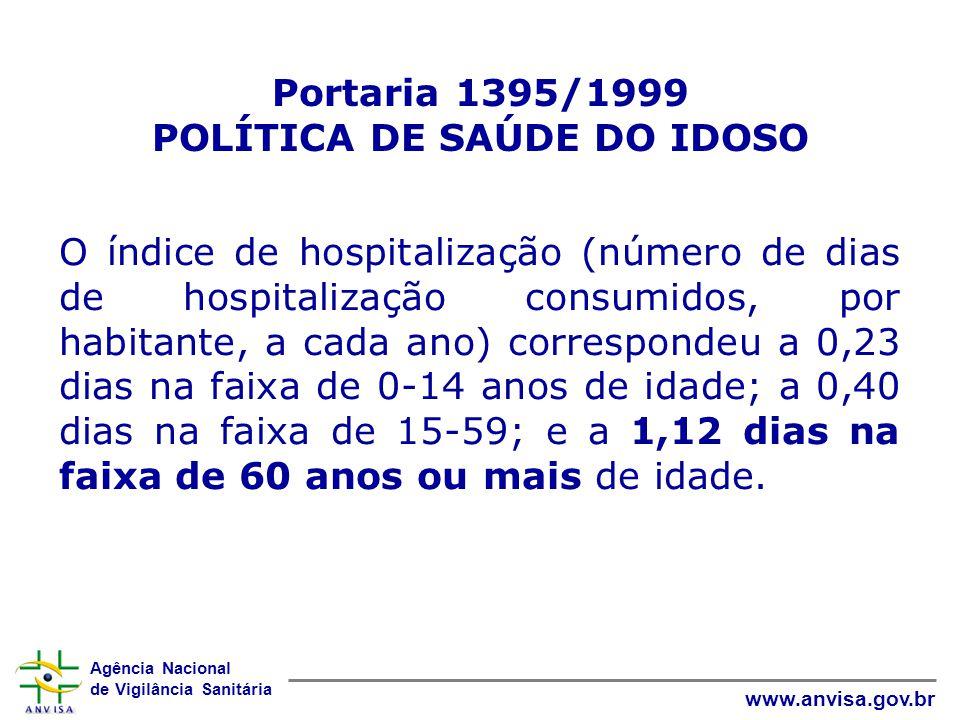 Portaria 1395/1999 POLÍTICA DE SAÚDE DO IDOSO