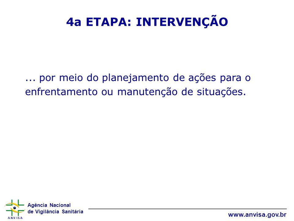 4a ETAPA: INTERVENÇÃO ...