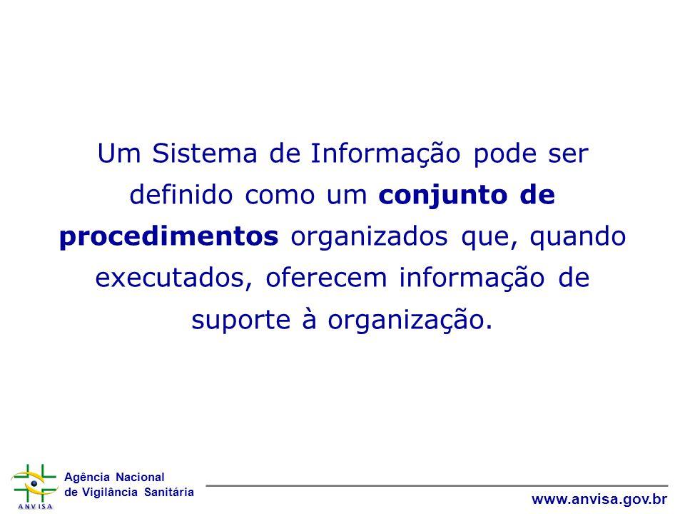 Um Sistema de Informação pode ser definido como um conjunto de procedimentos organizados que, quando executados, oferecem informação de suporte à organização.