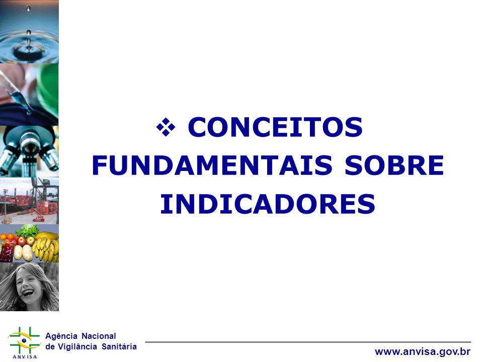 CONCEITOS FUNDAMENTAIS SOBRE INDICADORES