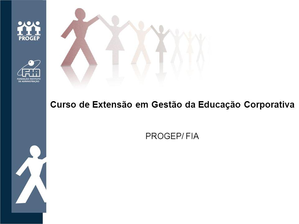 Curso de Extensão em Gestão da Educação Corporativa