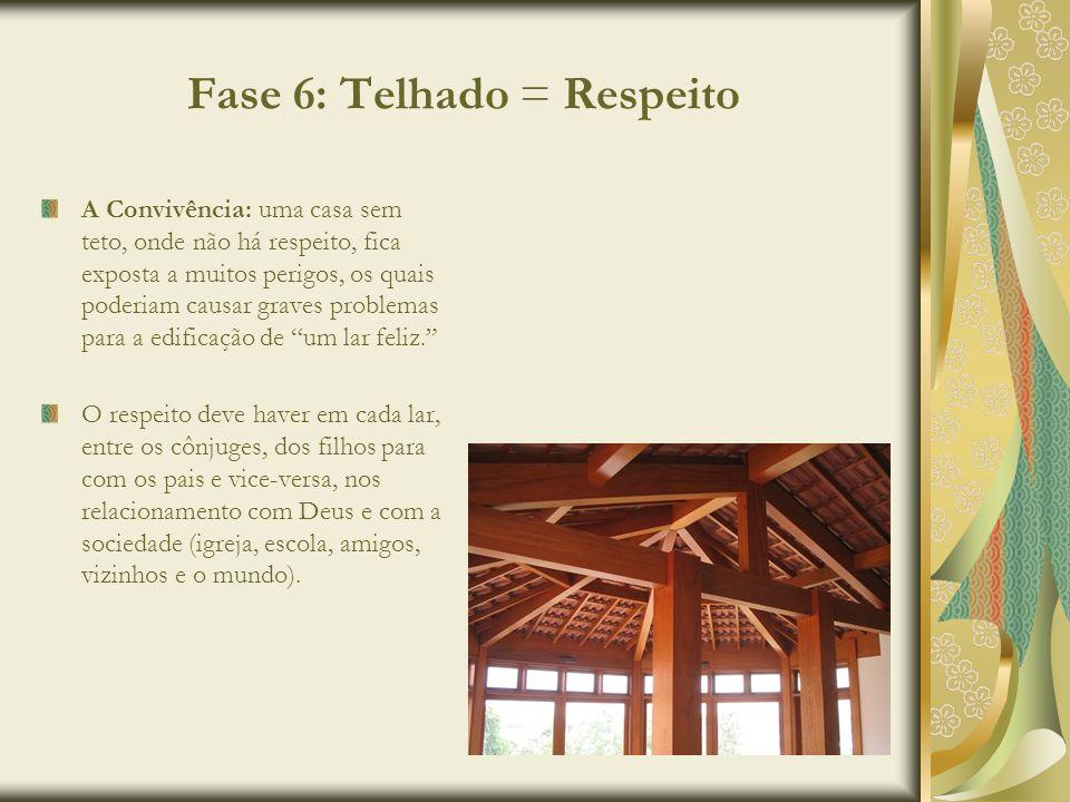 Fase 6: Telhado = Respeito