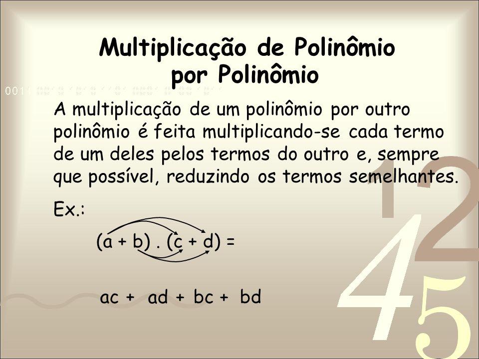 Multiplicação de Polinômio