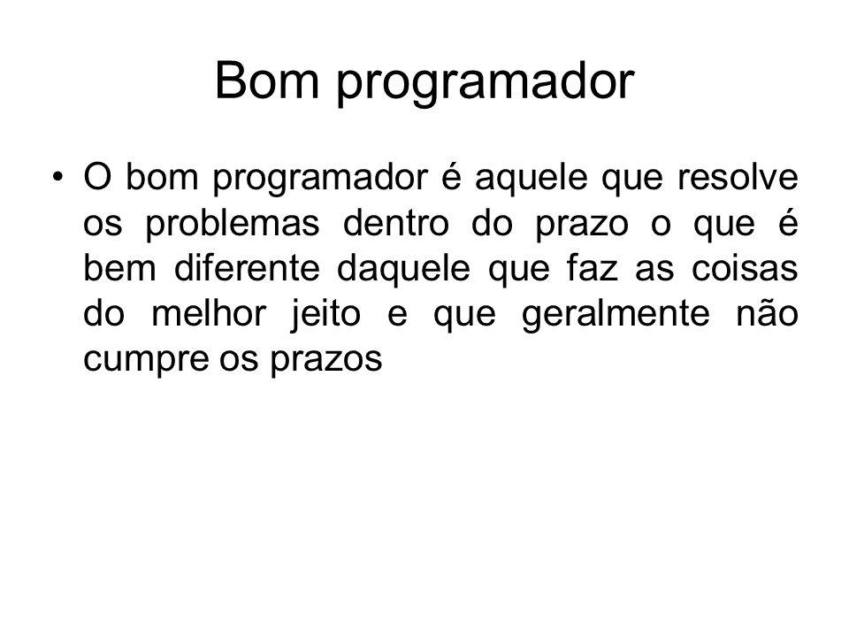 Bom programador
