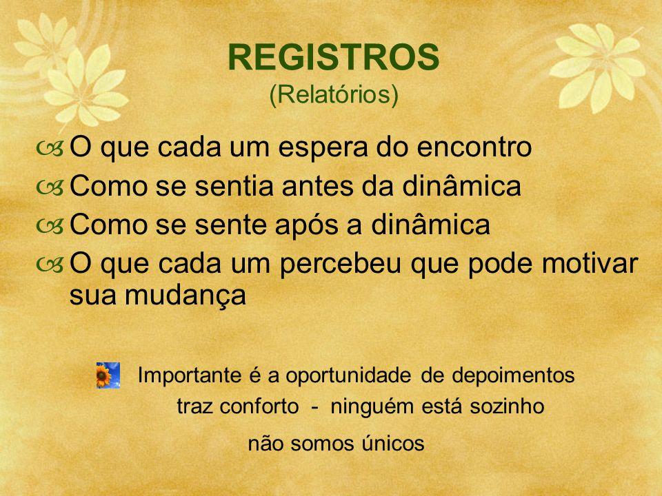 REGISTROS (Relatórios)