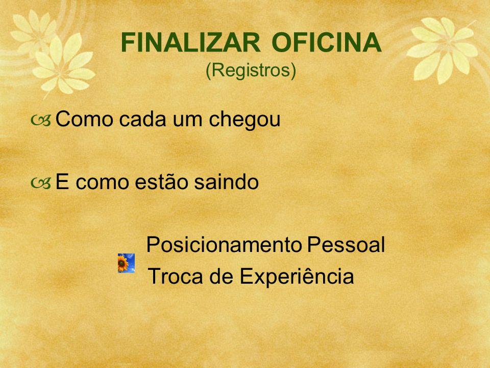 FINALIZAR OFICINA (Registros)