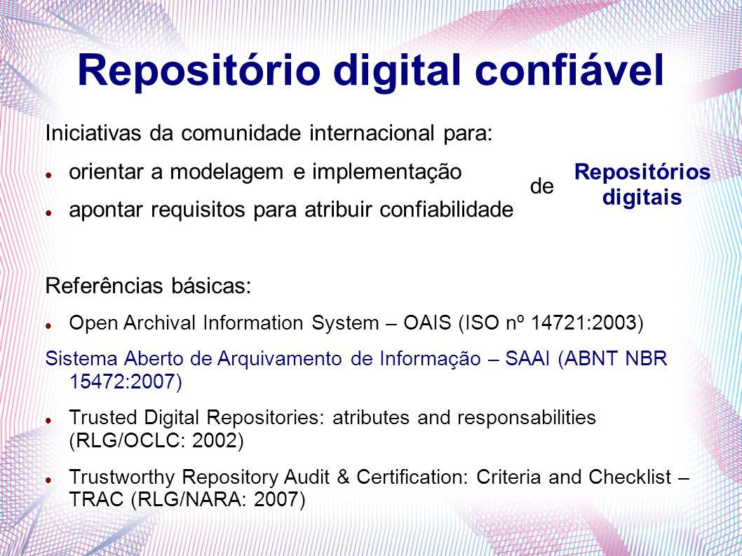 Repositório digital confiável