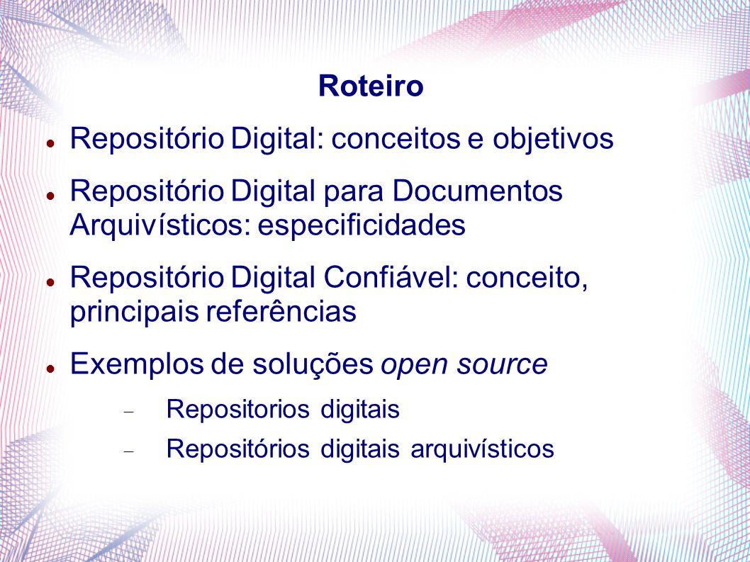 Repositório Digital: conceitos e objetivos