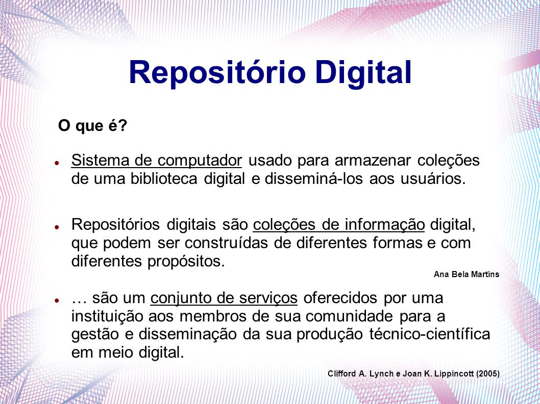 Repositório Digital O que é