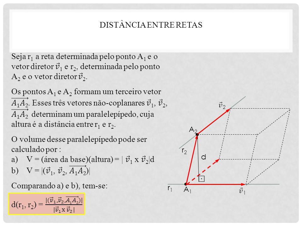 O volume desse paralelepípedo pode ser calculado por :