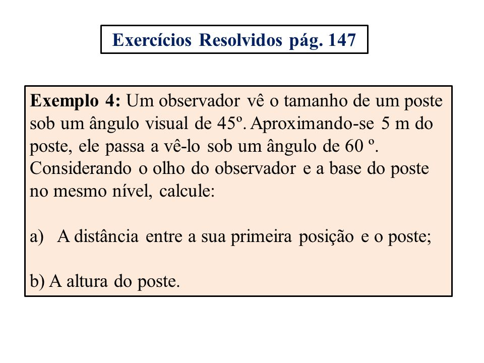 Exercícios Resolvidos pág. 147