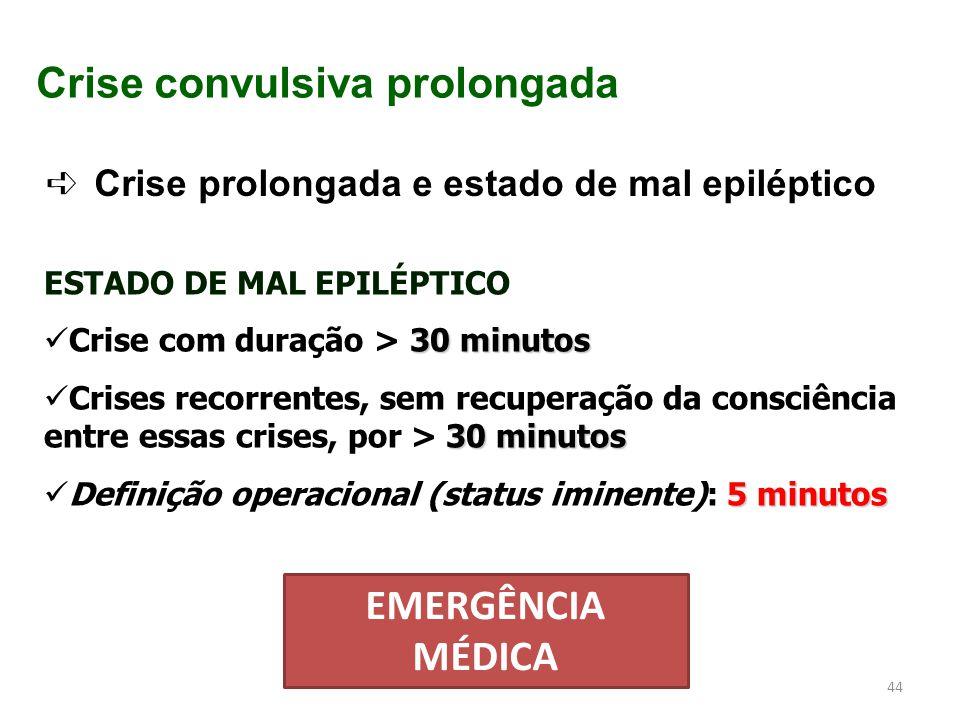 Crise convulsiva prolongada