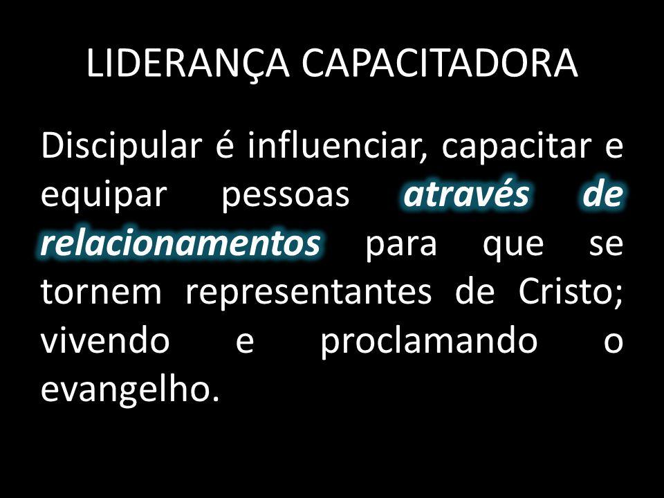 LIDERANÇA CAPACITADORA