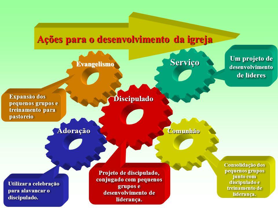 Um projeto de desenvolvimento de líderes
