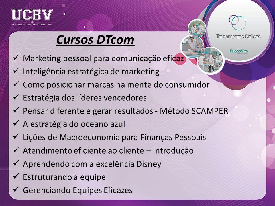 Cursos DTcom Marketing pessoal para comunicação eficaz