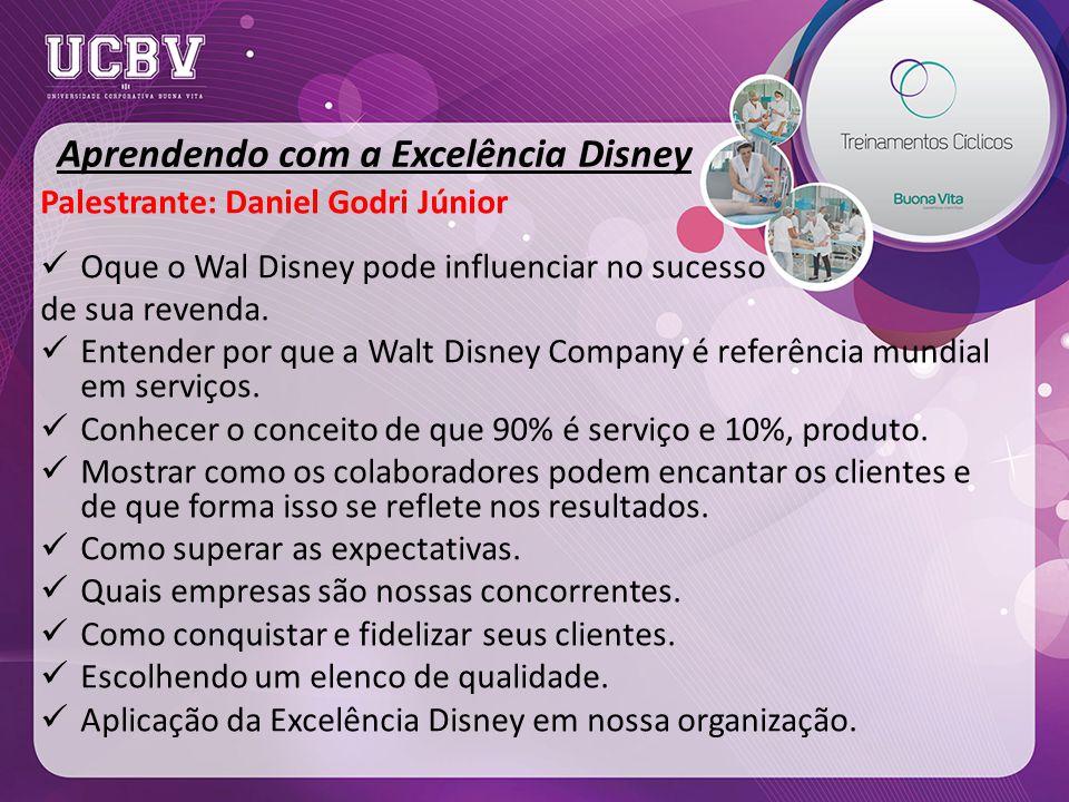 Aprendendo com a Excelência Disney