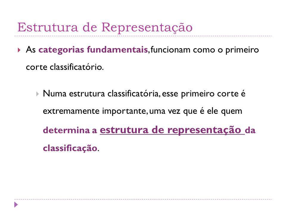 Estrutura de Representação
