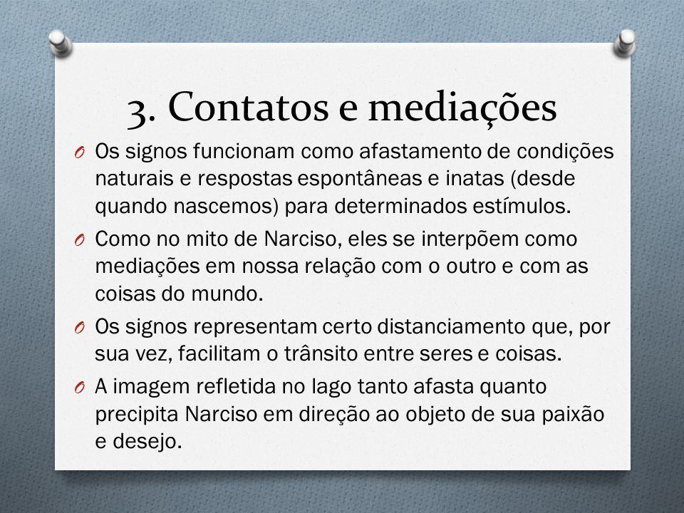 3. Contatos e mediações