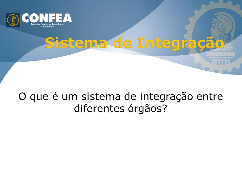 O que é um sistema de integração entre diferentes órgãos