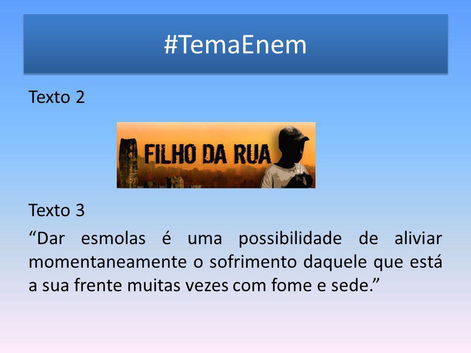 #TemaEnem
