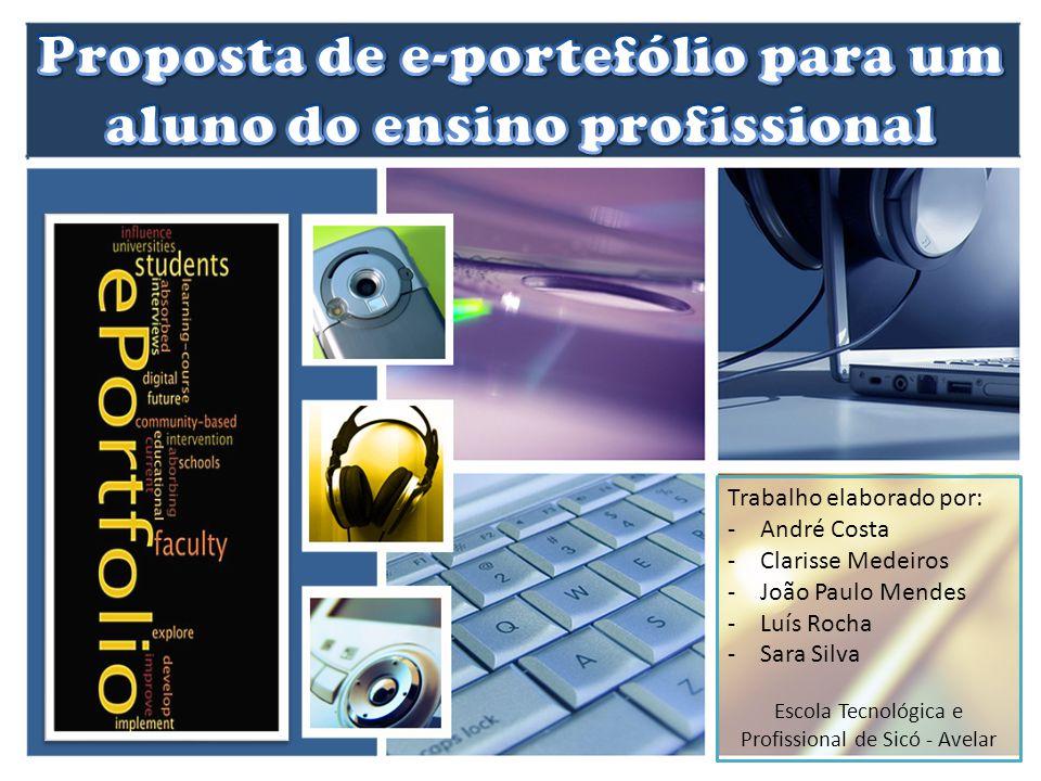 Proposta de e-portefólio para um aluno do ensino profissional