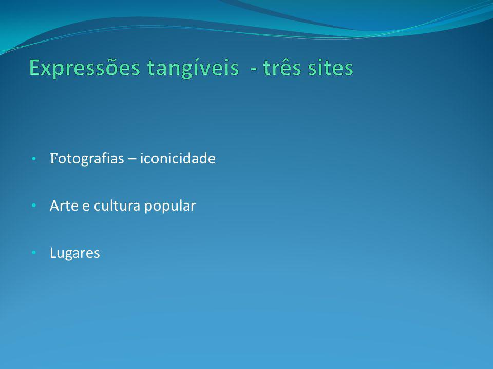 Expressões tangíveis - três sites
