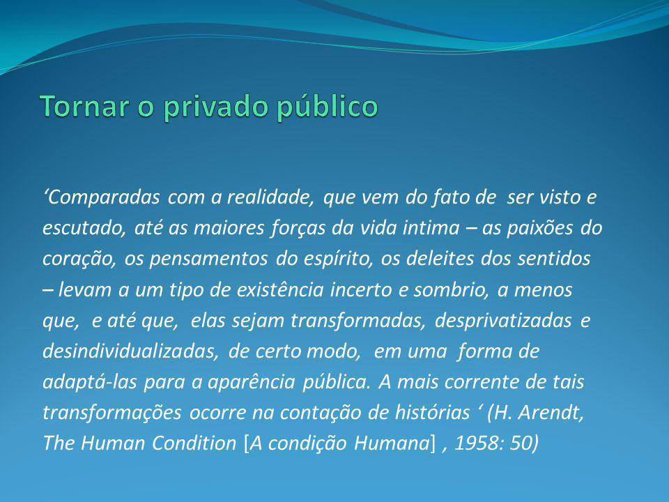 Tornar o privado público