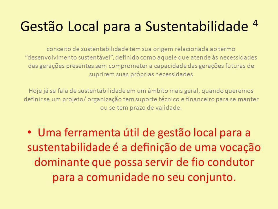 Gestão Local para a Sustentabilidade 4