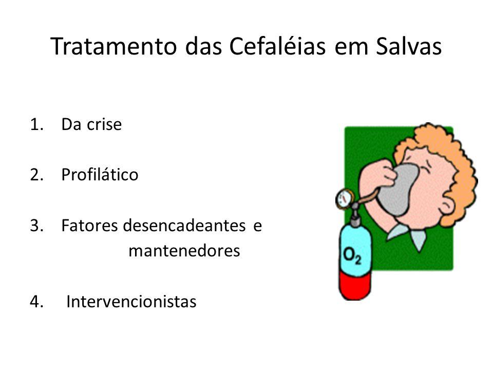 Tratamento das Cefaléias em Salvas