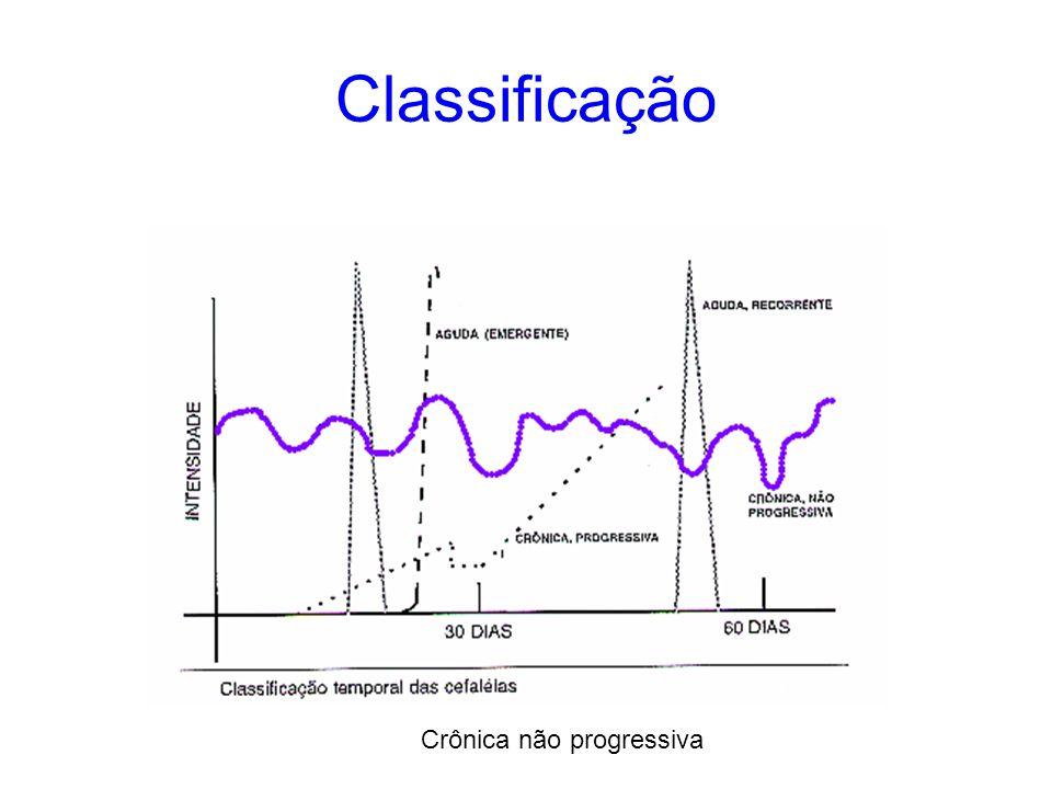 Classificação Crônica não progressiva
