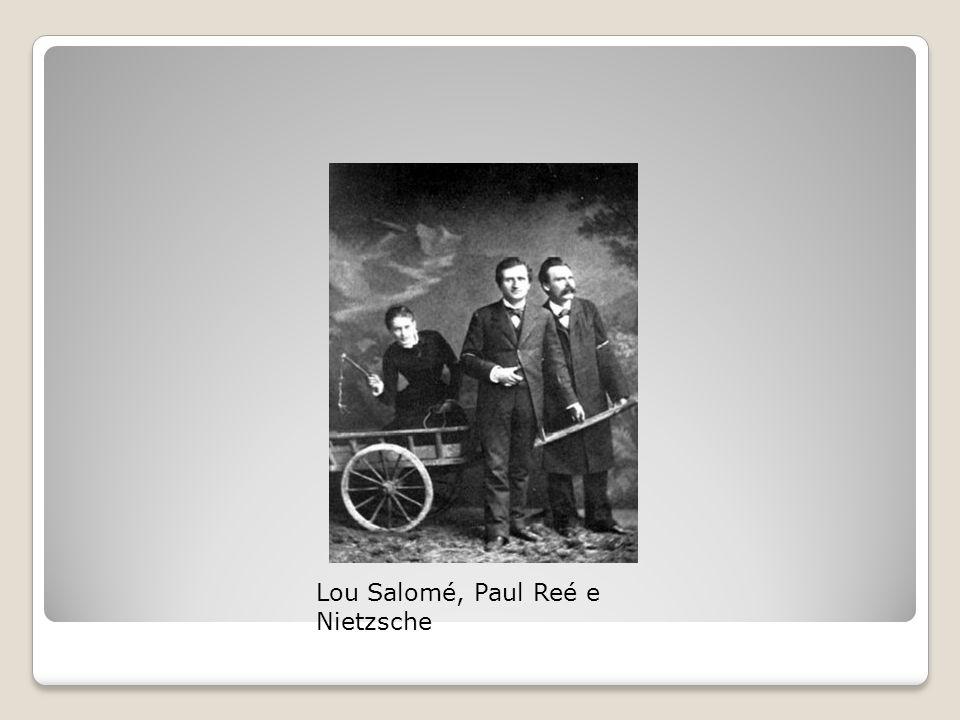 Lou Salomé, Paul Reé e Nietzsche